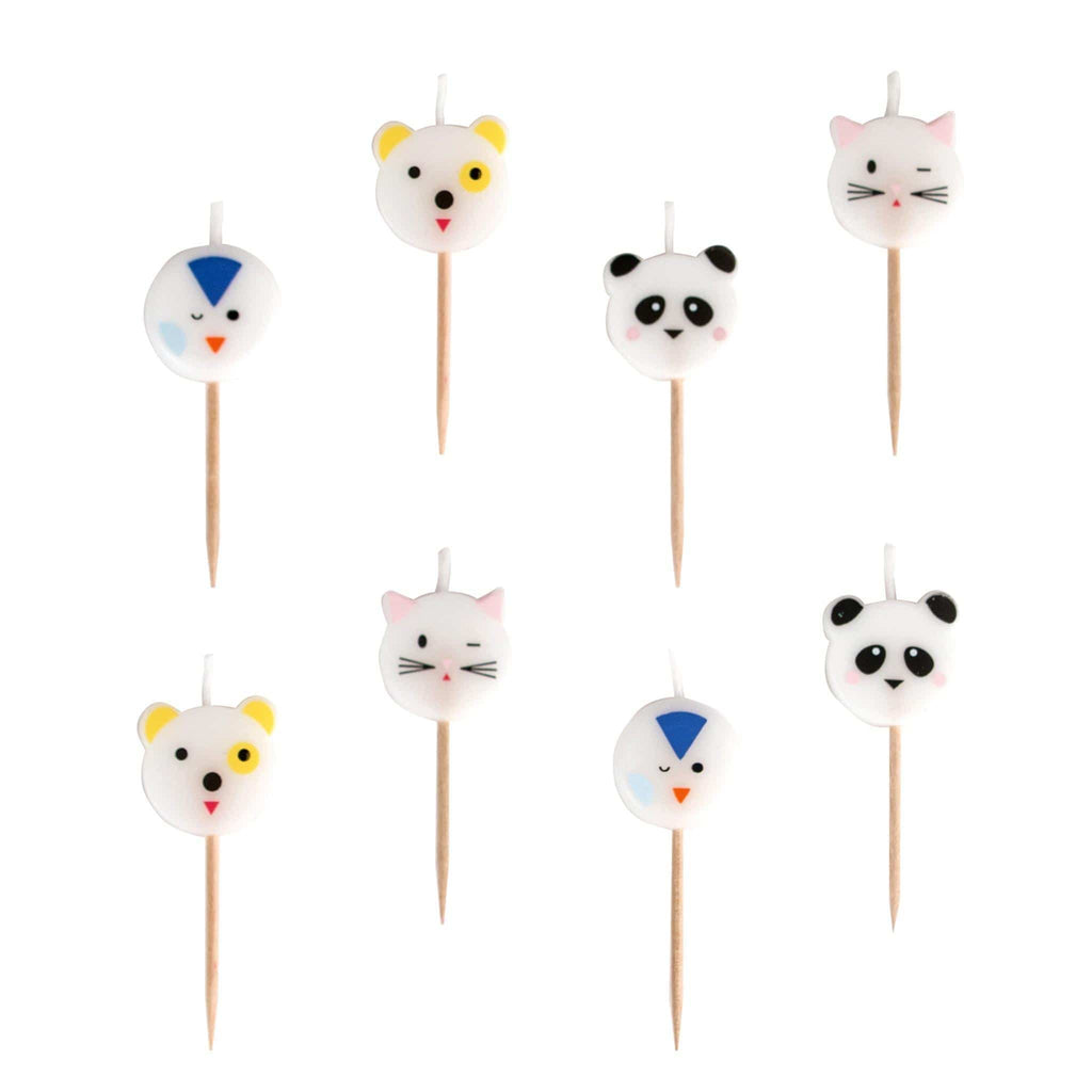 Vela para Pastel de Mini Animals- 6 pzas Velas My Little Day