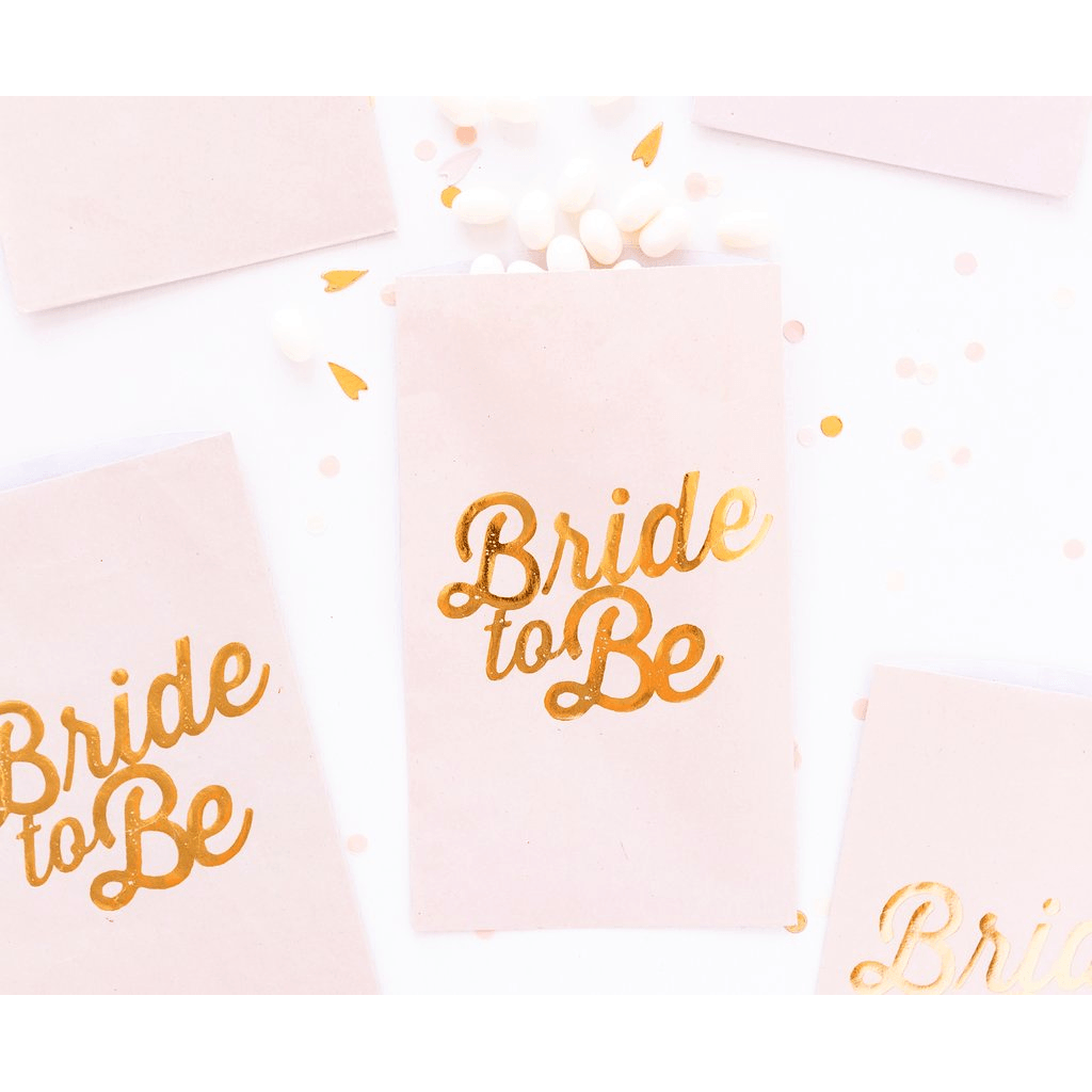 Bolsas de Regalo Bride To Be - 24 pzas Bolsas My Minds Eye