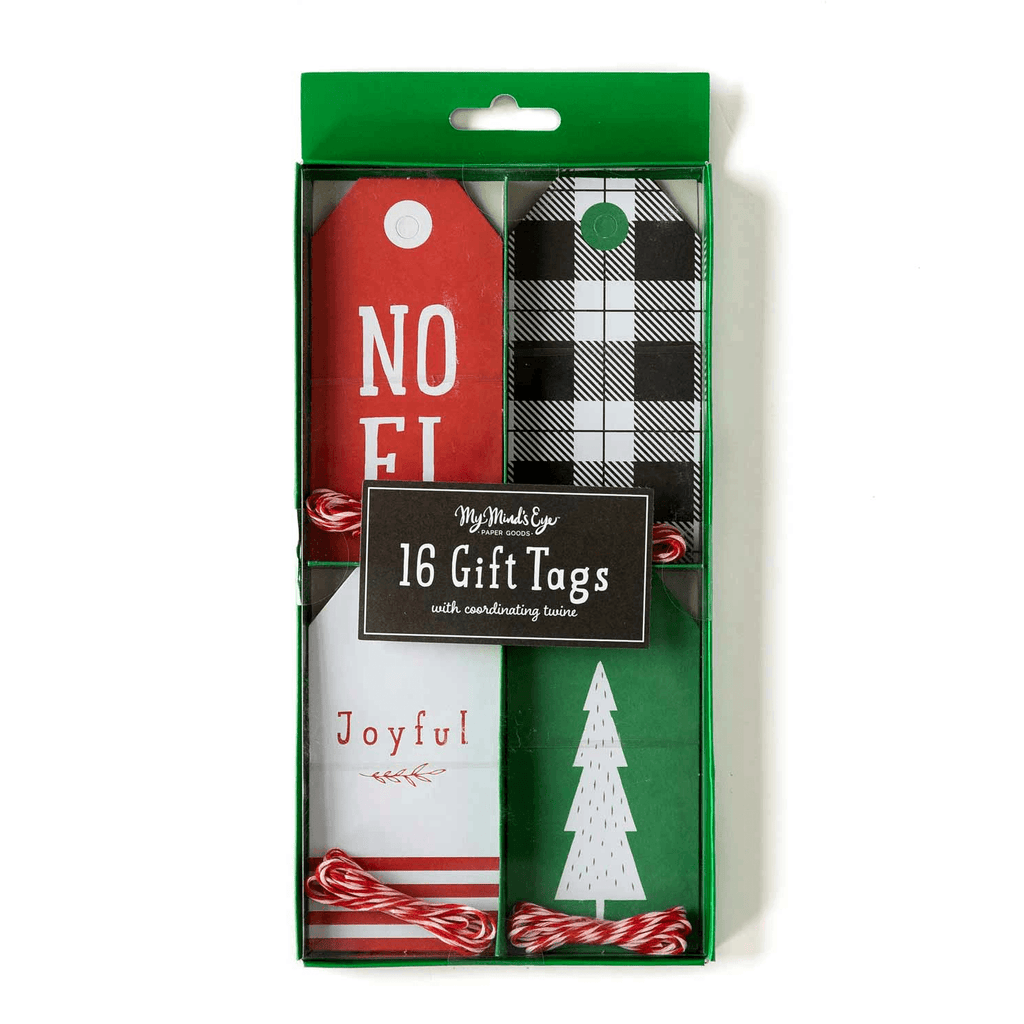 Noel Set Gift Tag - 16 pzas Tags My Minds Eye