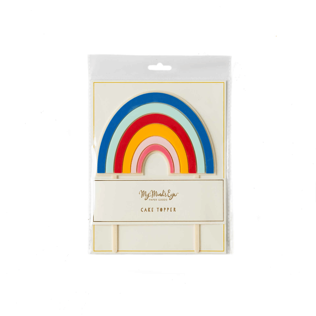 Topper para Pastel Magical Rainbow - 1 pza Toppers My Minds Eye