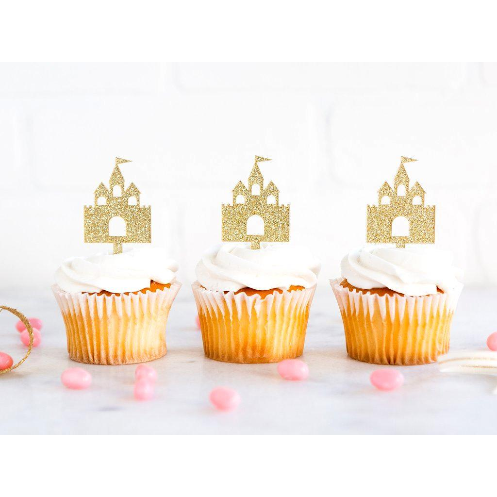 Toppers para Cupcakes Castillo de Princesas - 8 pzas Toppers My Minds Eye