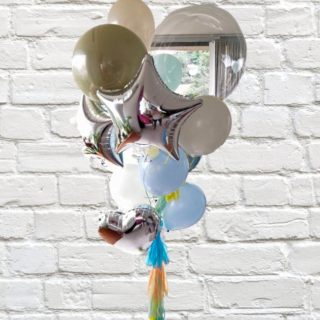 Globos Baby Shower Bouquet Inflados Arreglo globos PARTY ART