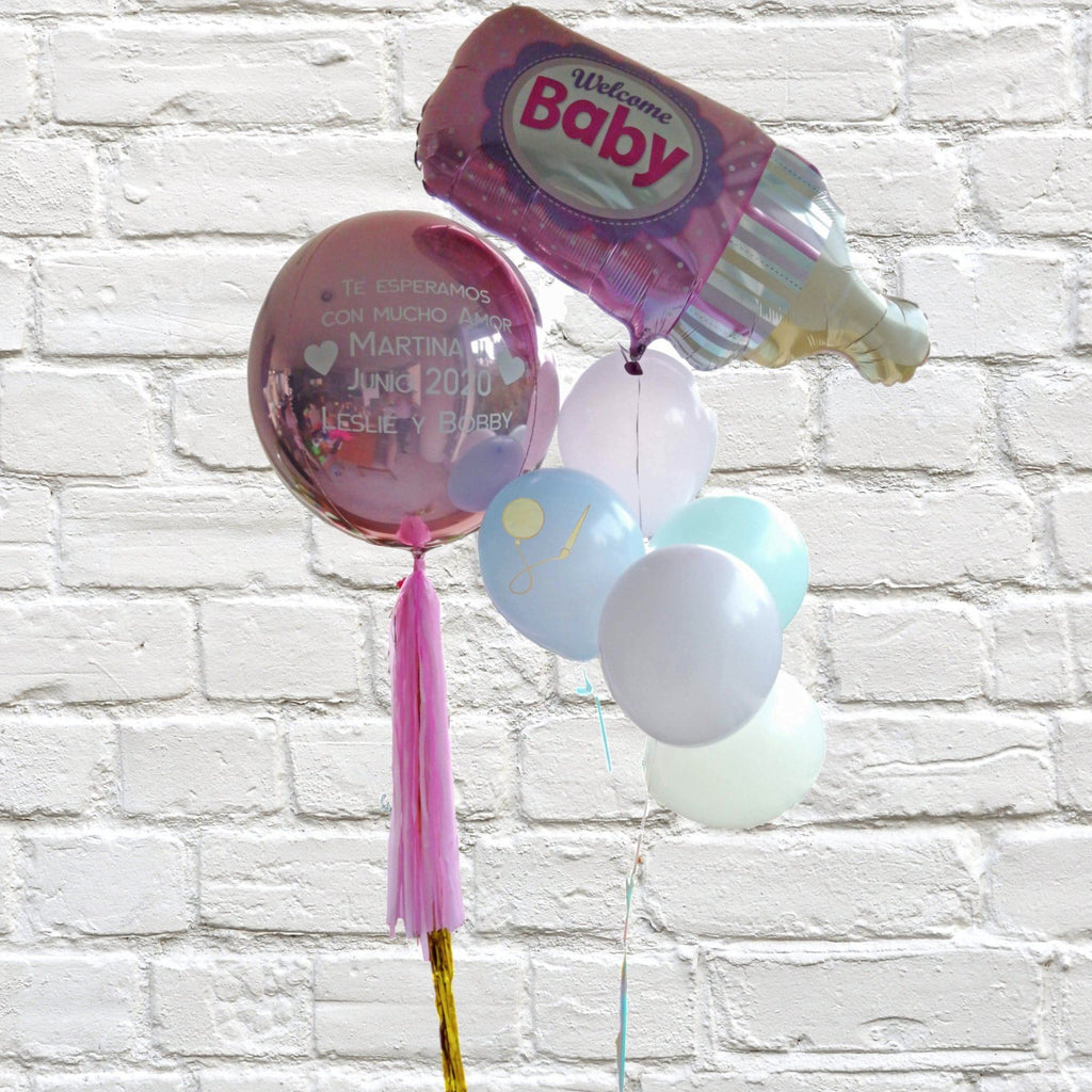 Globos Baby Bouquet Inflados Arreglo globos PARTY ART