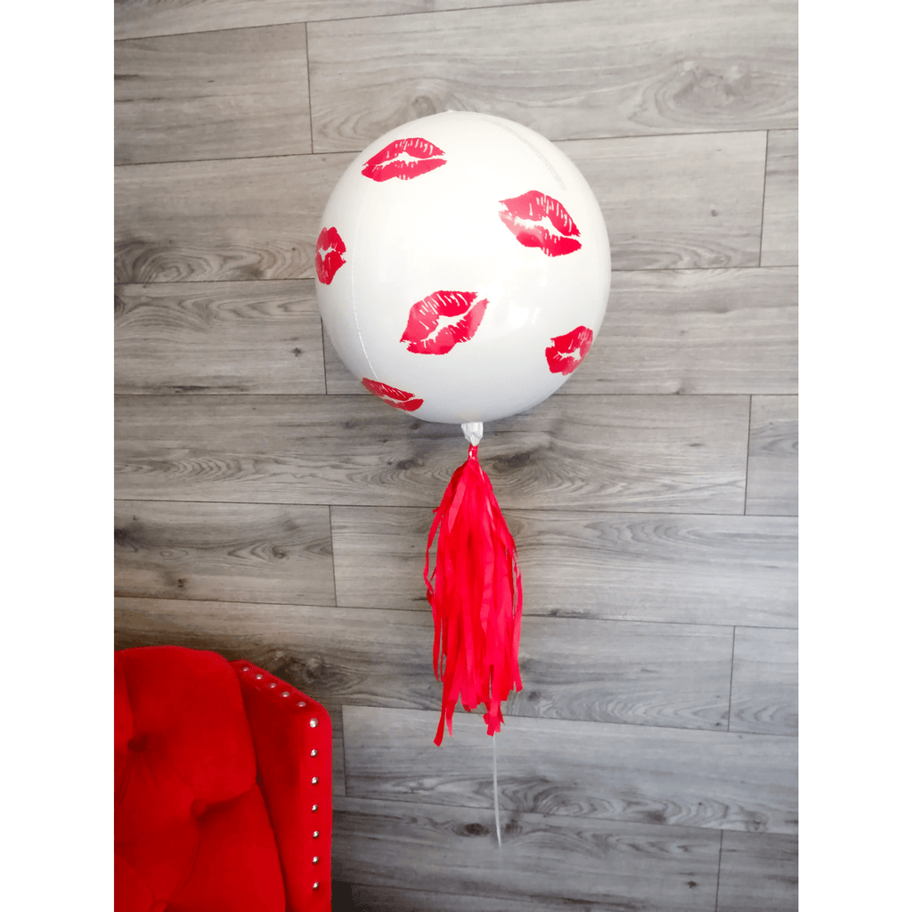 Globo Personalizado Kisses - 1 pza Globos PARTY ART