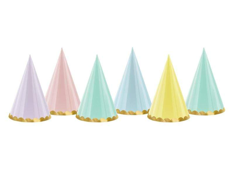 Party hats Yummy, mix, 16cm.