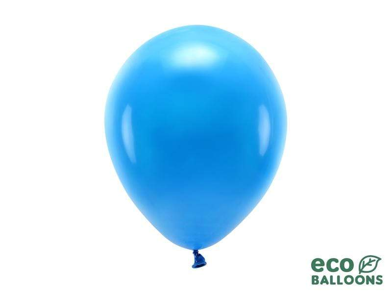 Eco Balloons 26cm pastel, blue (1 pkt / 10 pc.) Globos Party Deco