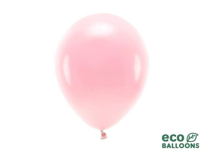 Eco Balloons 26cm pastel, blush pink (1 pkt / 10 pc.) Globos Party Deco