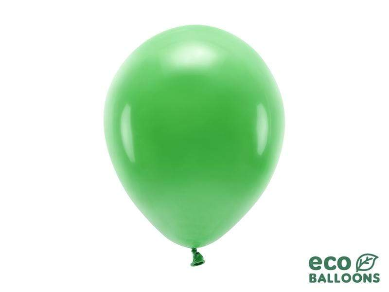 Eco Balloons 26cm pastel, green grass (1 pkt / 10 pc.) Globos Party Deco