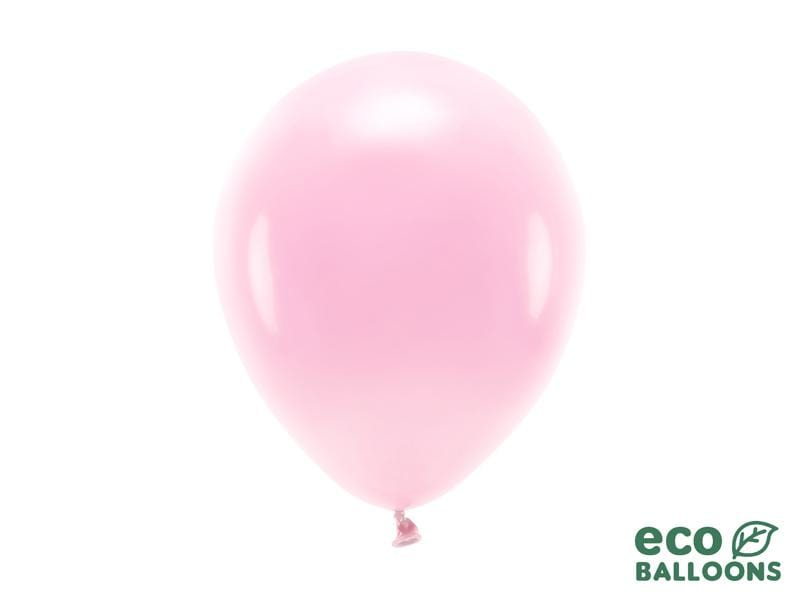 Eco Balloons 26cm pastel, light pink (1 pkt / 10 pc.) Globos Party Deco