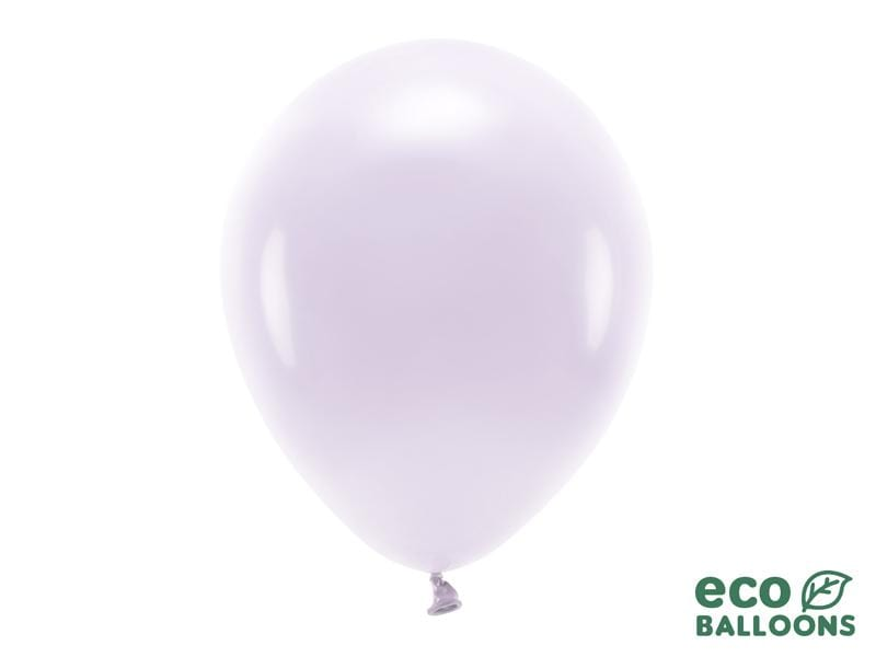 Eco Balloons 30cm pastel, light lilac (1 pkt / 10 pc.) Globos Party Deco