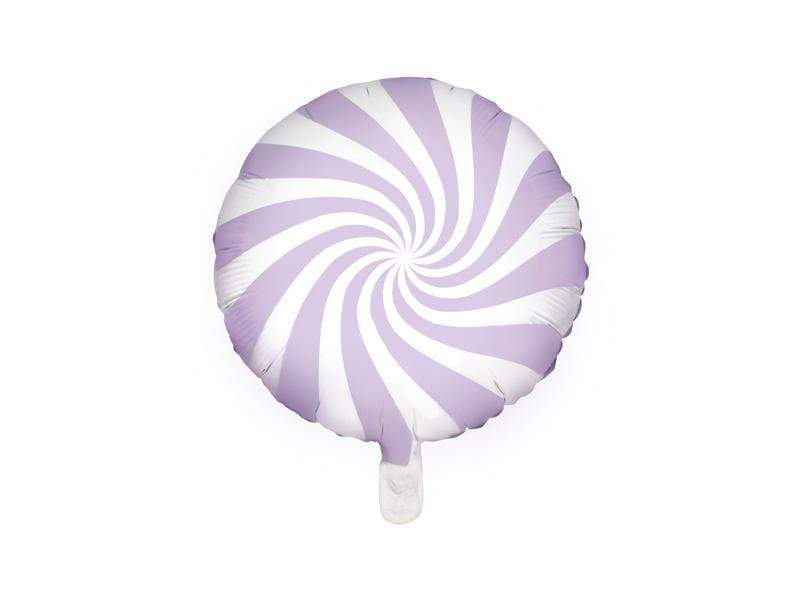 Foil Balloon Candy, 35cm, light lilac Globos Party Deco