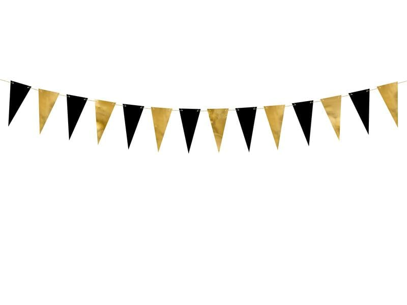 Bunting, mix, 2.15 m.