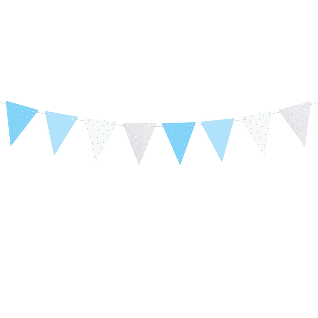 Garland 1st, Birthday - Flags, 1.3m Guirnalda Party Deco