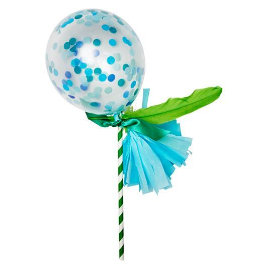 Globo Decorado Fancy Pop Handsome - 1 Pza Globos Poppies for Grace