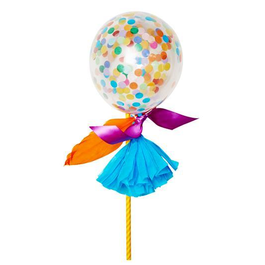 Globo Decorado Fancy Pop Happy - 1 Pza Globos Poppies for Grace