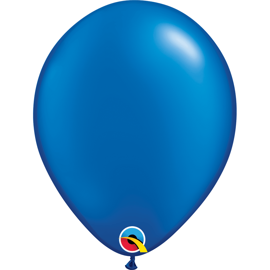 "Globo Latex 11""Azul Zafiro Globos Qualatex"