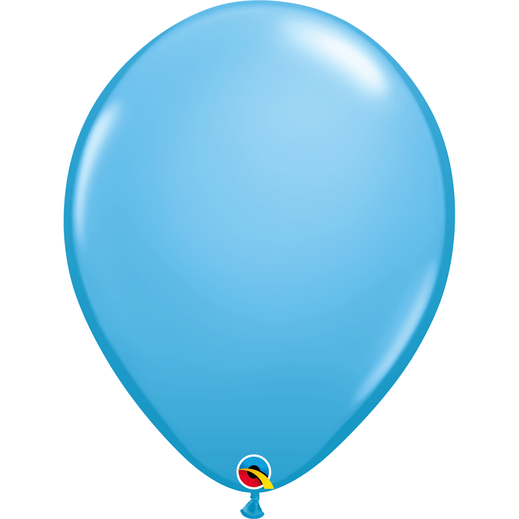 "Globo Latex 11"" Azul Claro - 1 pza Globos Qualatex"
