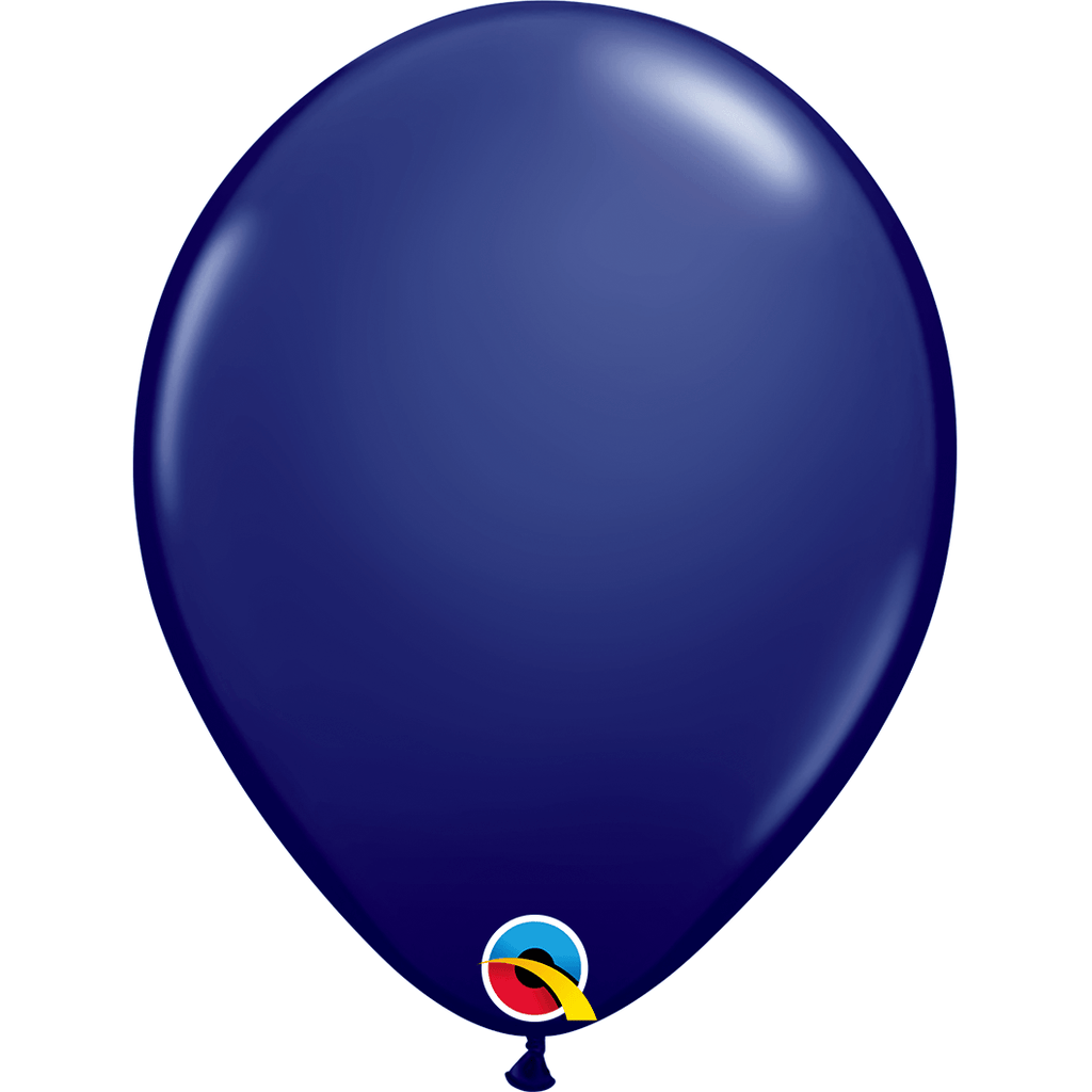 "Globo Latex 11"" Azul Oscuro - 1 pza Globos Qualatex"