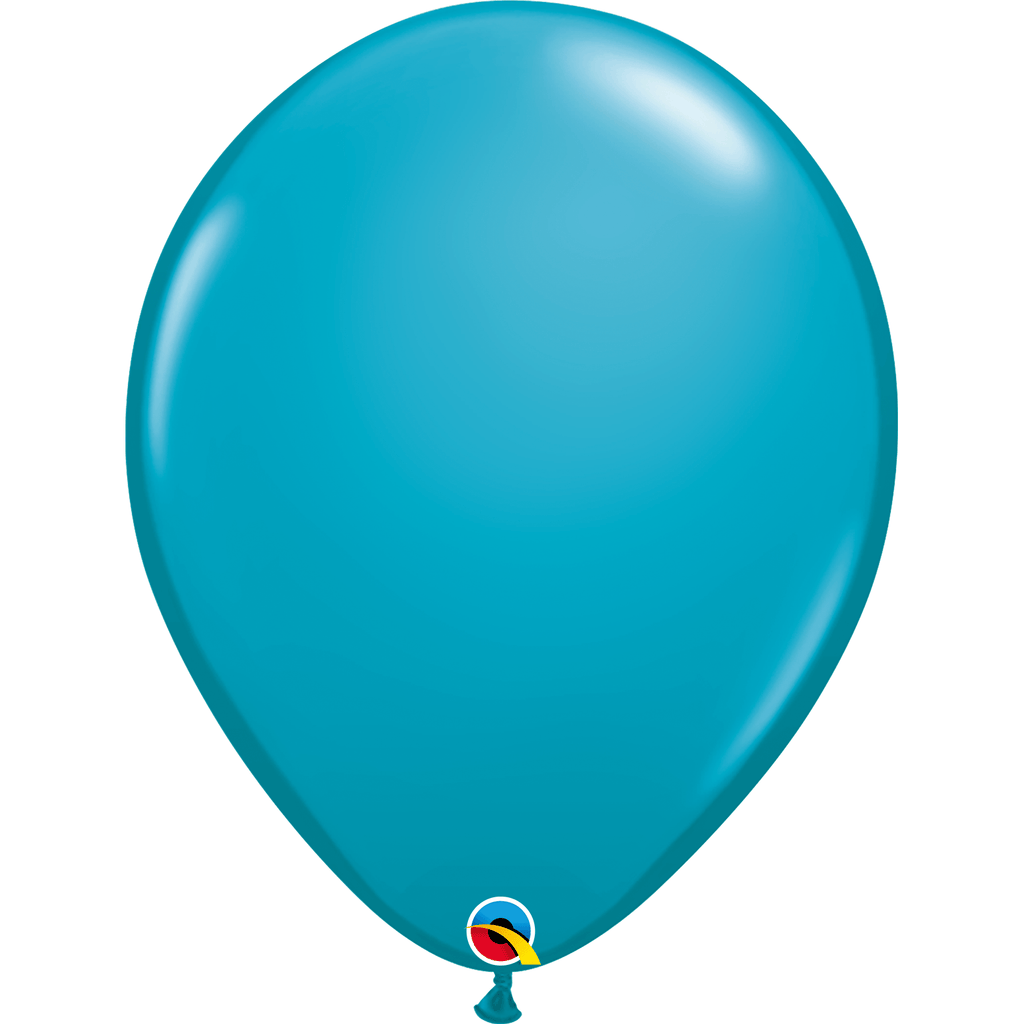 "Globo Latex 11"" Azul Tropical - 1 pza Globos Qualatex"