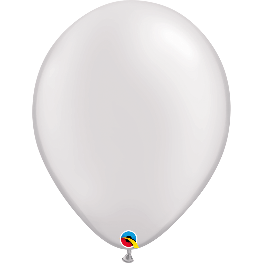 "Globo Latex 11"" Blanco Nacarado - 1 pza Globos Qualatex"