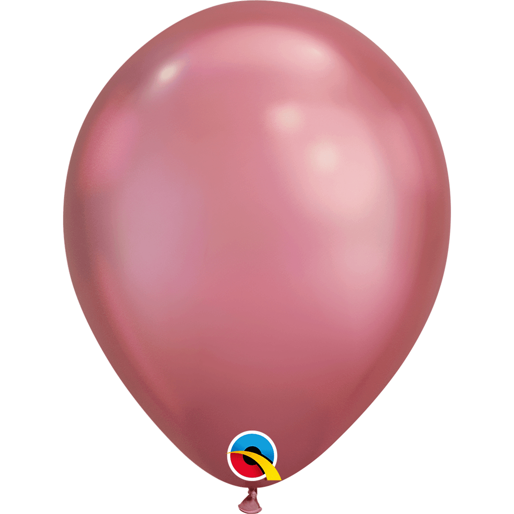 "Globo Latex 11"" Cromado Malva - 1 pza Globos Qualatex"