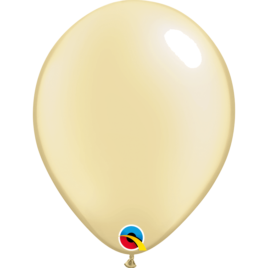 "Qualatex Globos Globo Latex 11"" Marfil Nacarado - 1 pzas"