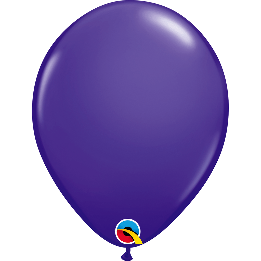"Globo Latex 11"" Morado - 1 pza Globos Qualatex"