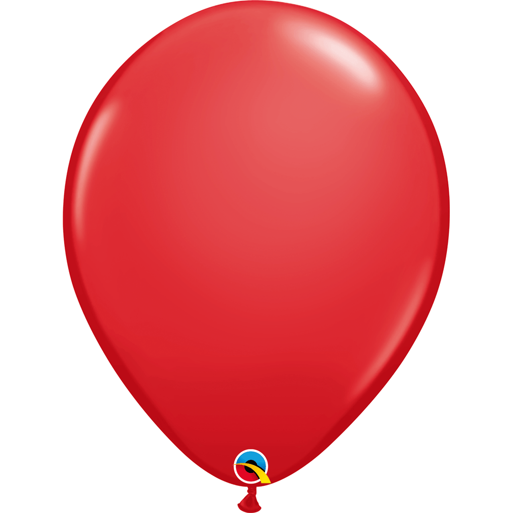 "Globo Latex 11"" Rojo - 1 pza Globos Qualatex"