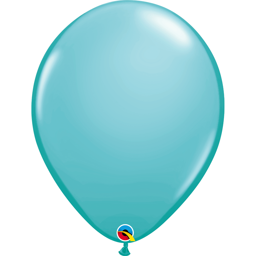 "Globo Latex 16"" Azul Caribe - 1 pza Globos Qualatex"