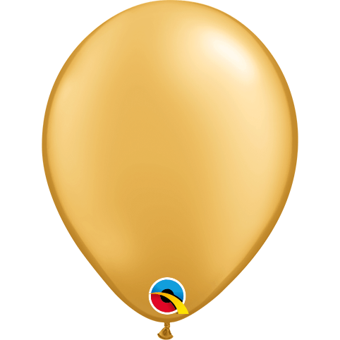 "Globo Latex 16"" Oro - 1 pza."