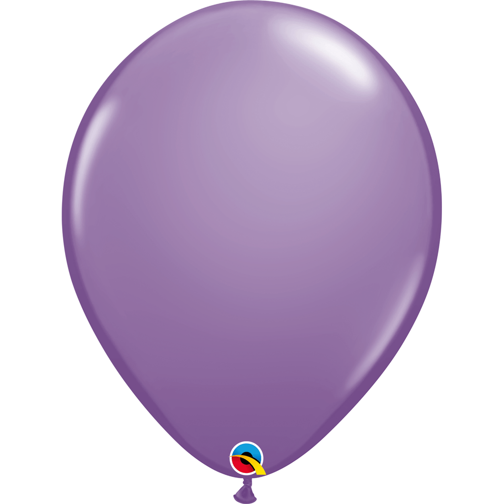 "Globo Latex 5"" Lila Primavera- 1 pza Globos Qualatex"