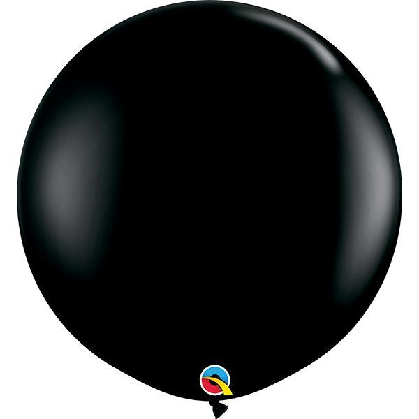 Globo Latex Gigante Negro Onix 3' - 1 Pza Globos Qualatex
