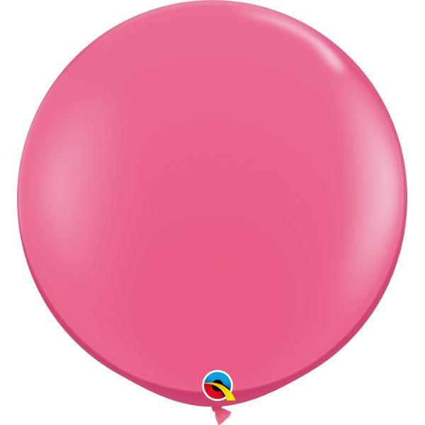 Globo Latex Gigante Rosa Mexicano 3' - 1 Pza Globos Qualatex