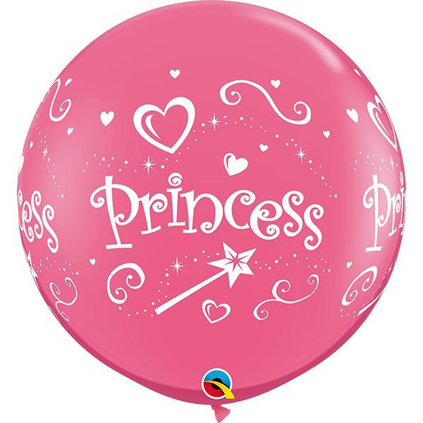 Globo Latex Gigante Rosa Mexicano Princesa 3' - 1 Pza Globos Qualatex