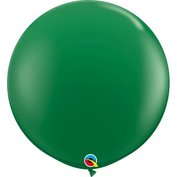 Globo Latex Gigante Verde 3' - 1 Pza Globos Qualatex