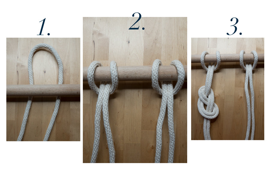 How to Make a Knot Wall Instructions