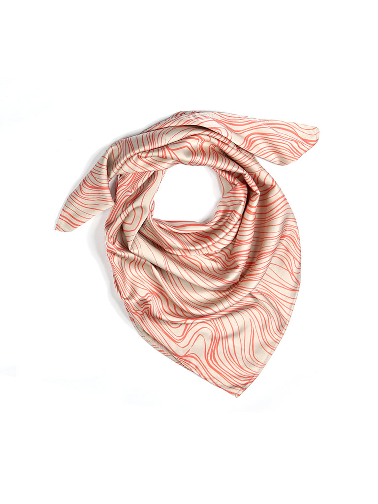 Luxury Women's Summer Scarf / Silk - Like - SPF & UPF Protection