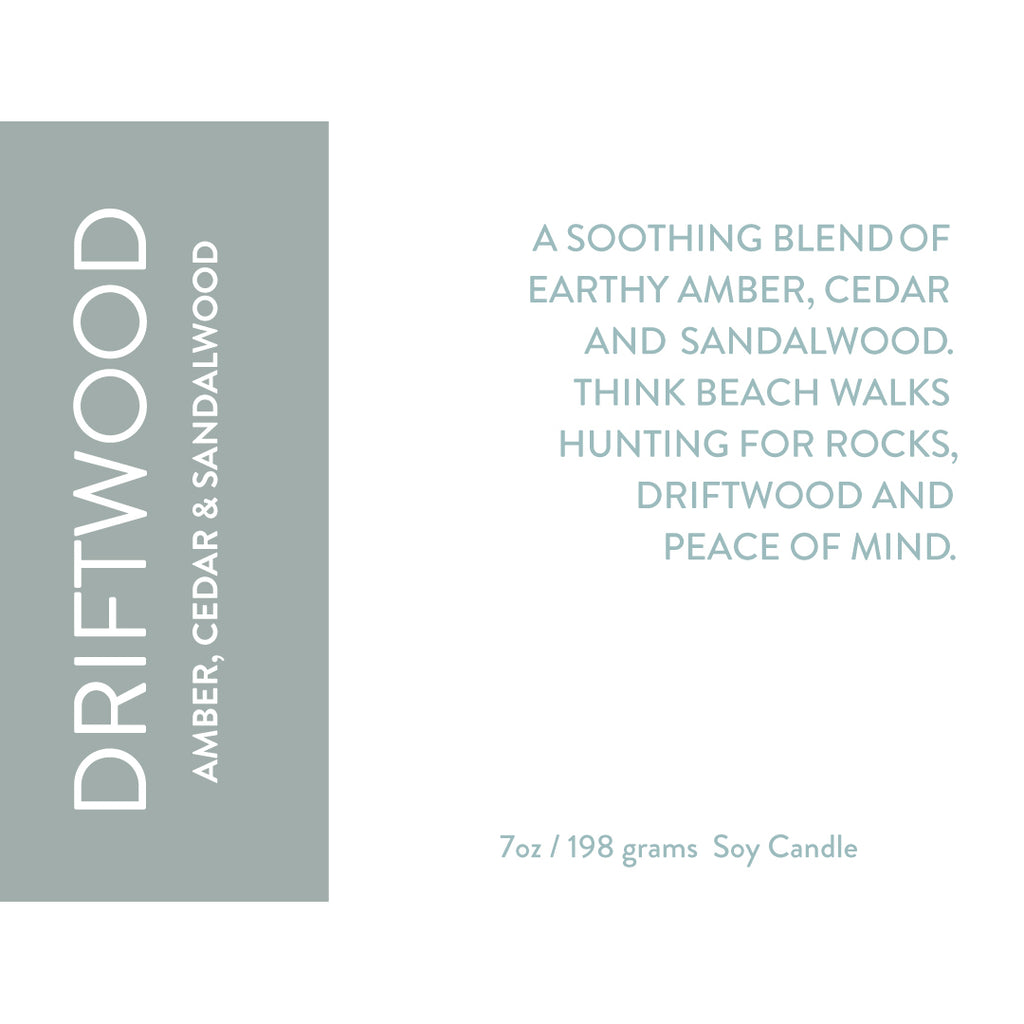 Driftwood Soy Candle