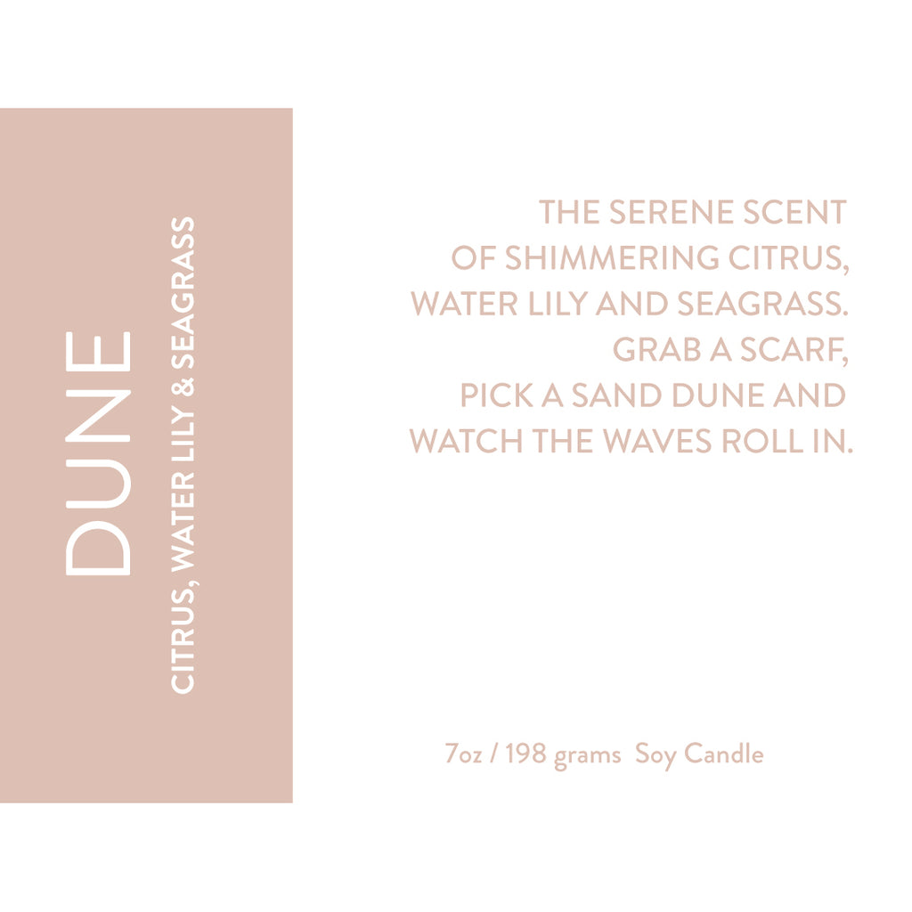 Dune Soy Candle