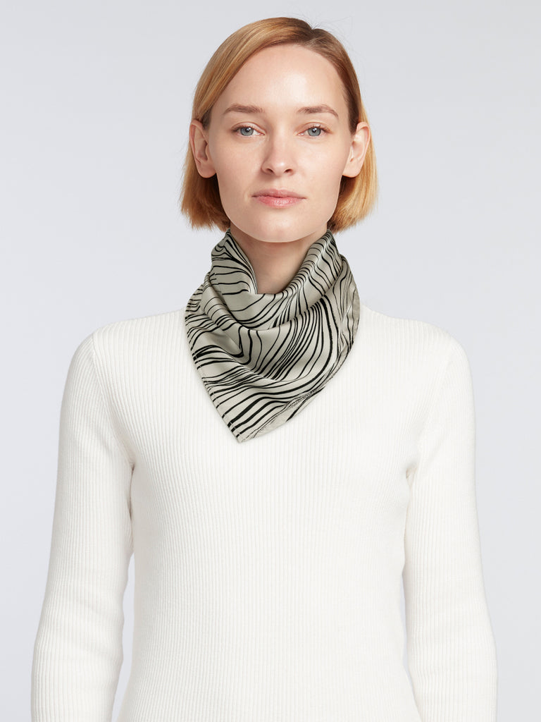 Designer Women's Summer Scarves / Silk - Like - SPF & UPF Protection