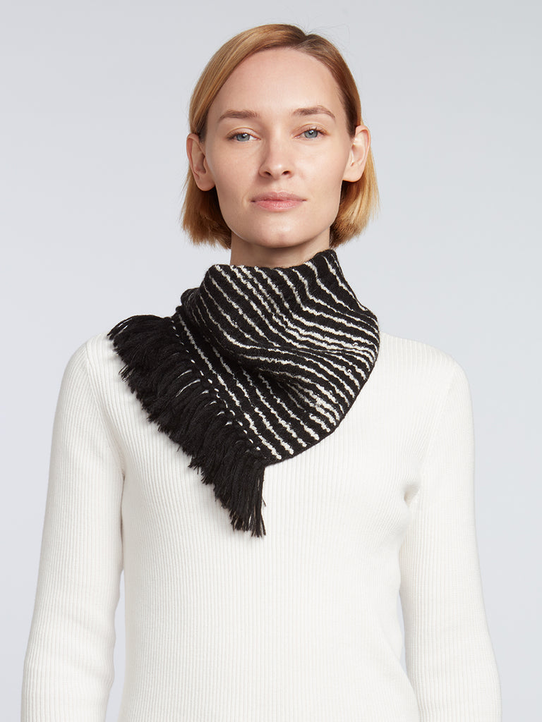 Best Fringe Scarf for Women | Easy-Tie Knitwear Accessory