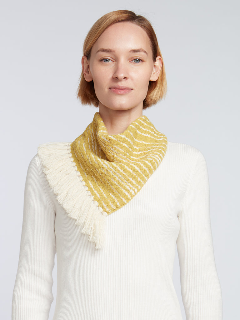 Designer Fringe Scarves for Women | Easy-Tie Knitwear Accessories