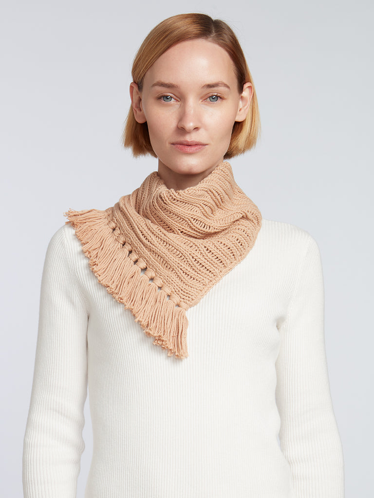 Designer Fringe Scarves for Women | Easy-Tie Knitwear Accessory