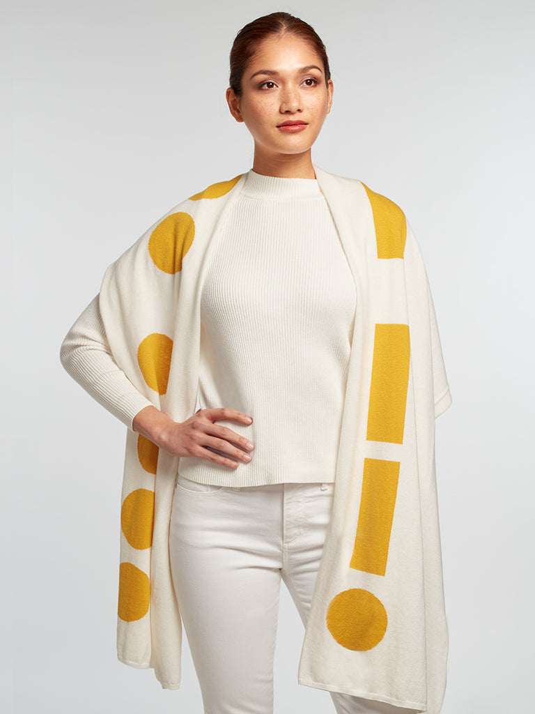 "Marconi ""HUG"" Travel Wrap – Ivory"