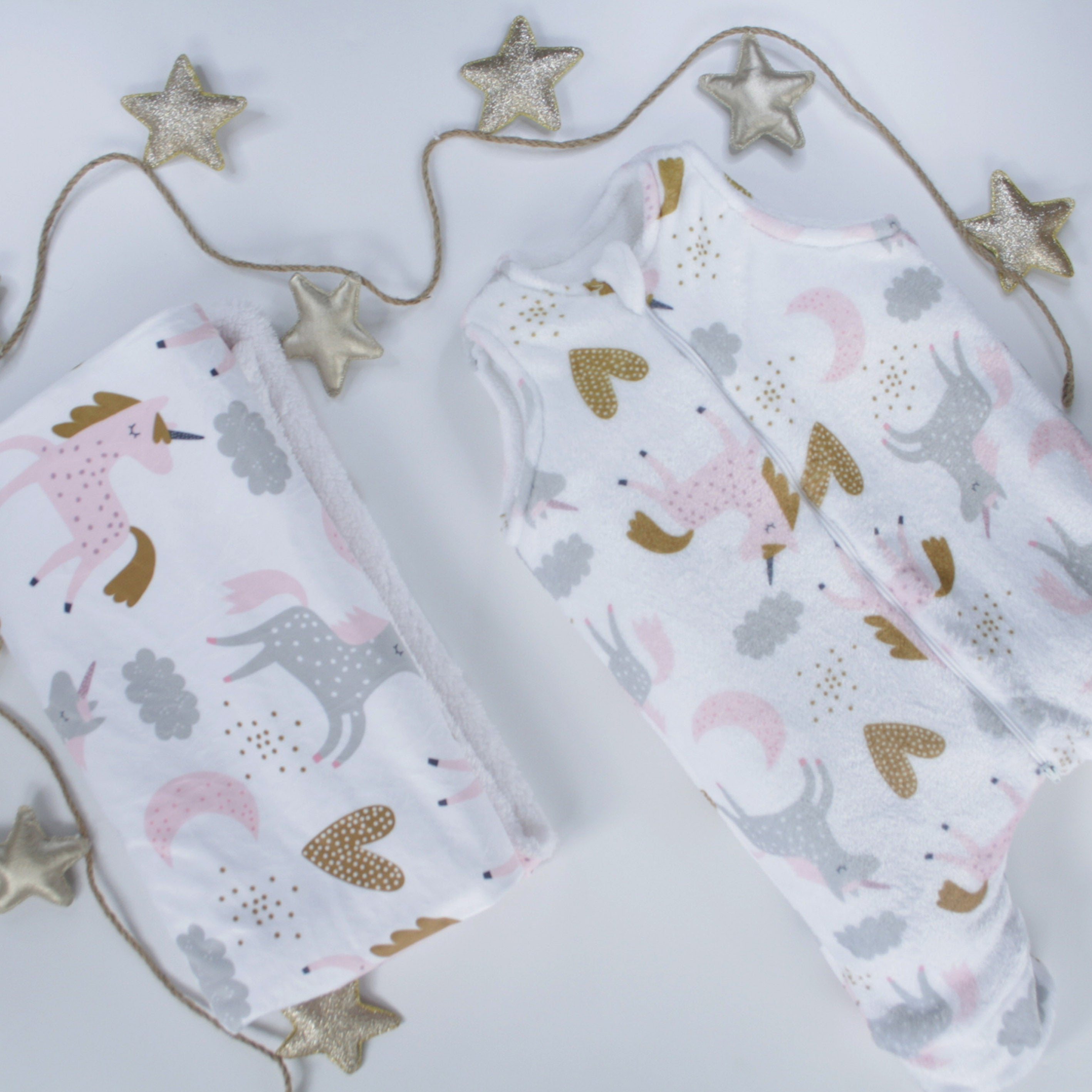 Sleeping bag para  bebé - Unicornios (6-18m)