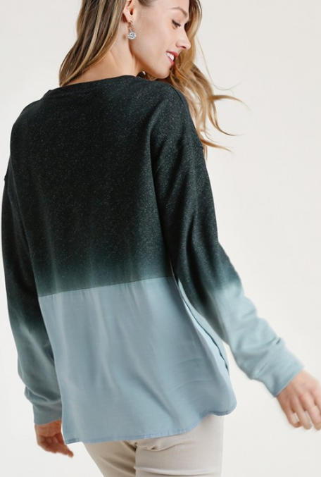 Easy Going Ombre Top