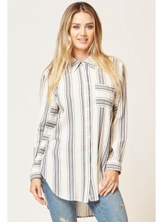 Luna Striped Top