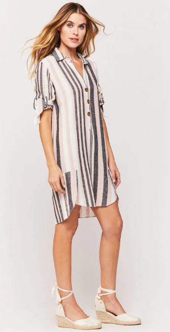 Ceana Striped Dress