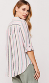 Elisa Striped Blouse