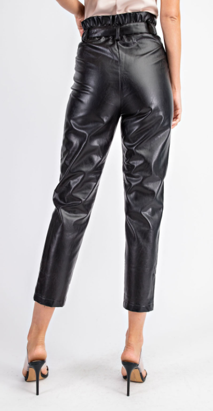 Talk About the Pleather Pant